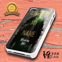 Breaking Bad Remember My Name Heisenberg for iphone, ipod, samsung galaxy, HTC and Nexus PHONE CASE