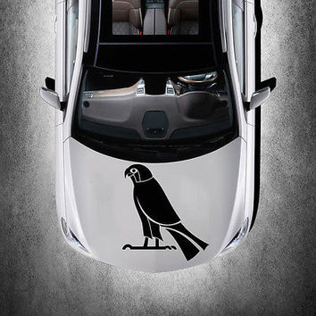 BEAUTIFUL BIRD ANIMAL ART DESIGN HOOD CAR VINYL STICKER DECALS MURALS SV1295