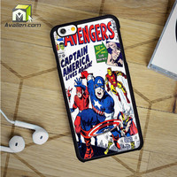Avengers Captain America iPhone 6 case by Avallen