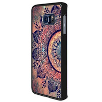 flower mandala 370995ea-fe38-4f4f-bde1-2737913a3ba4 for Samsung Galaxy S6 Edge Plus Case *02*