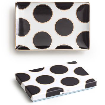 Ladies Choice Tray Dots - Black / Gold