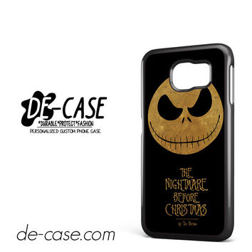 The Nightmare Before Christmas By Tim Burton For Samsung Galaxy S6 Samsung Galaxy S6 Edge Samsung Galaxy S6 Edge Plus Case Phone Case Gift Present YO