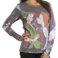 Disney Peter Pan Fairy Dust Kiss Girls Pullover Top