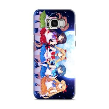 Sailor Moon (group outside) Samsung Galaxy S8 | Galaxy S8 Plus Case