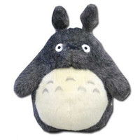 Grey Totoro Plush -- Medium
