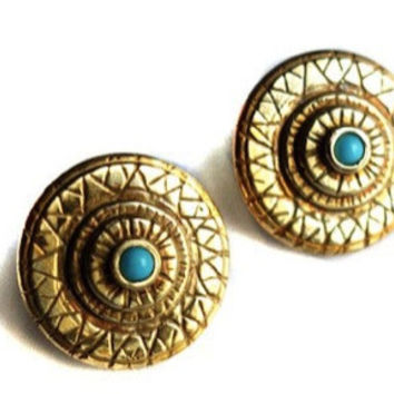 Chameleon Eyes Earrings