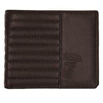 Men's Versace Classic Medusa Leather Wallet With Box