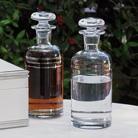 Global Views Platinum Banded Decanter - Global Views 6-60295