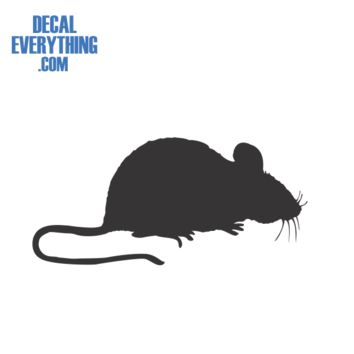 Baby Mouse Decal - Animal Decals