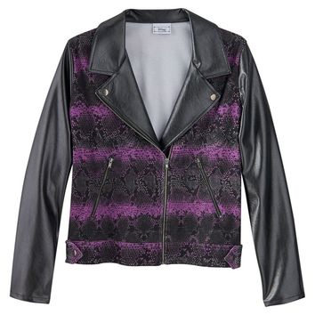 Disney D-Signed Moto Jacket - Girls