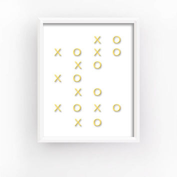xoxo, xoxo Prints, xo Home Decor, xoxo Home Gifts, xo Wall Decor, xoxo Bedroom Decor, xoxo Romantic Art, xo Wall Art | XOXO ART #28