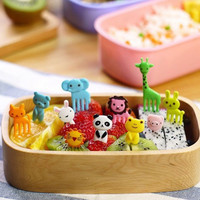 2 Packs Special Design Bento Kawaii Animal Food Fruit Picks Forks Lunch Box Accessory Decor Tool #81167