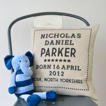 New Baby Cushion Cover