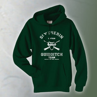 Slytherin Quidditch team CAPTAIN Pullover Hoodie