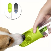400ml Portable Pet Dog Water Bottle Filter for Travel