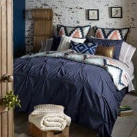 Blissliving® Home Harper Reversible Duvet Cover Set in Navy
