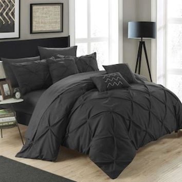 Chic Home Hannah 10 Piece Bedding Set | Null