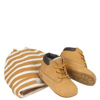 Timberland | Infant Crib Booties and Hat Set