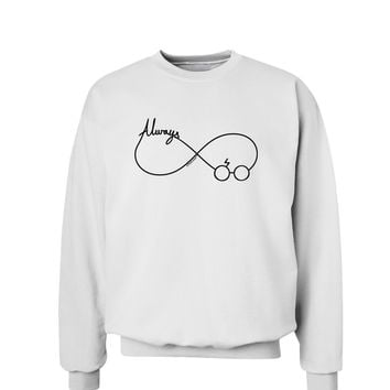 Always Infinity Symbol Sweatshirt