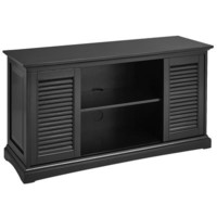Plantation TV Stand - Rubbed Black