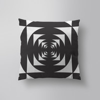 Throw Pillows for Couches / This is not a Circle 4 by Alddo Fernandez