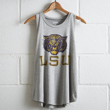 Tailgate Women's LSU Tigers Tank, Heather Gray