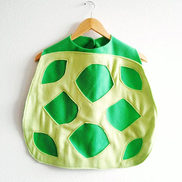 Turtle Cape, Halloween Costume or Dress Up Cape for all ages