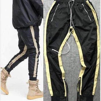 Lightweight Double Striped Track Pants