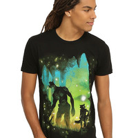 Marvel Guardians Of The Galaxy Rocket & Groot Forest T-Shirt