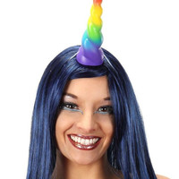 Rainbow Unicorn Horn Accessory Animal Anime Costume Prop