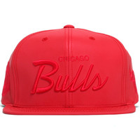 Chicago Bulls Tonal Reflective Script Snapback Hat Red