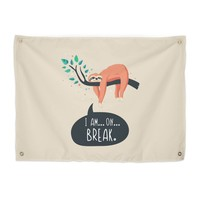 Sloth on... break | printapix's Artist Shop