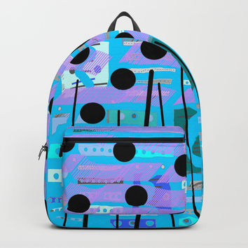 Color square 08 Backpack by Zia