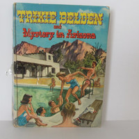 TRIXIE BELDEN Mystery in Arizona Vintage Childrens books Mystery Books 1958