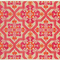 Aquila Outdoor Rug, Sand/Pink - Backyard Living - Outdoor Essentials - Outdoor | One Kings Lane