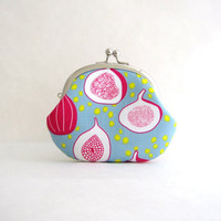 Frame Coin Purse - Happy Figs