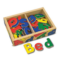 Melissa and Doug Melissa and Doug Magnetic Wooden Alphabet in a Box