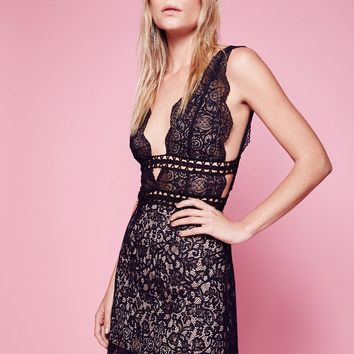 Free People Mon Cheri Mini Dress