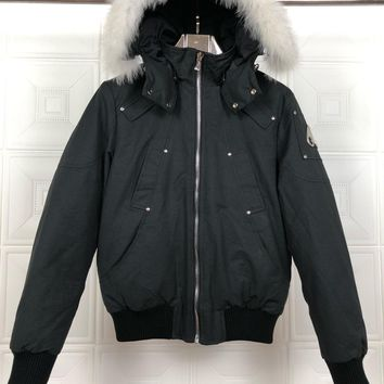 Moose knuckles Down jacket men's / women's foreign trade Canada goose down jacket