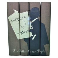 Sherlock Holmes Books, Set of 4, Fiction Books