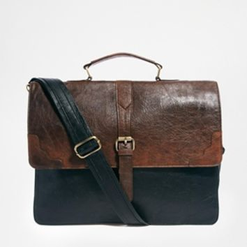 ASOS Contrast Smart Satchel