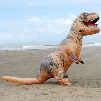 Adult Size Inflatable T-Rex Dinosaur Costume