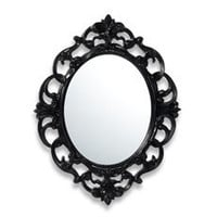 Baroque Mirror - Black