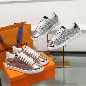 Louis Vuitton LV Glittered Frontrow Sneaker
