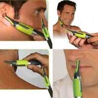 New Professional Personal Hair Trimmer Ear Nose Mustache Beard Grooming Kit = 5658535553