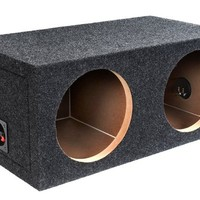 Bbox E12D Dual 12-Inch Sealed Subwoofer Enclosure