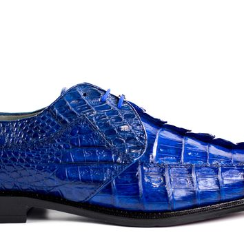 Colombo Hornback Alligator Dress Shoe by Belvedere