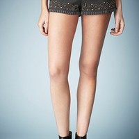Kate Moss for Topshop Studded Denim Shorts