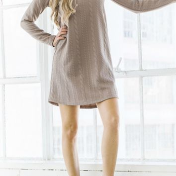 Pattern Sweater Tunic
