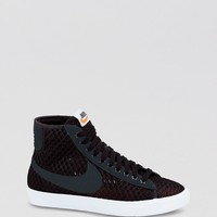 Nike Sneakers Lace Up High Top Sneakers - Women's Blazer Mid Mesh | Bloomingdale's